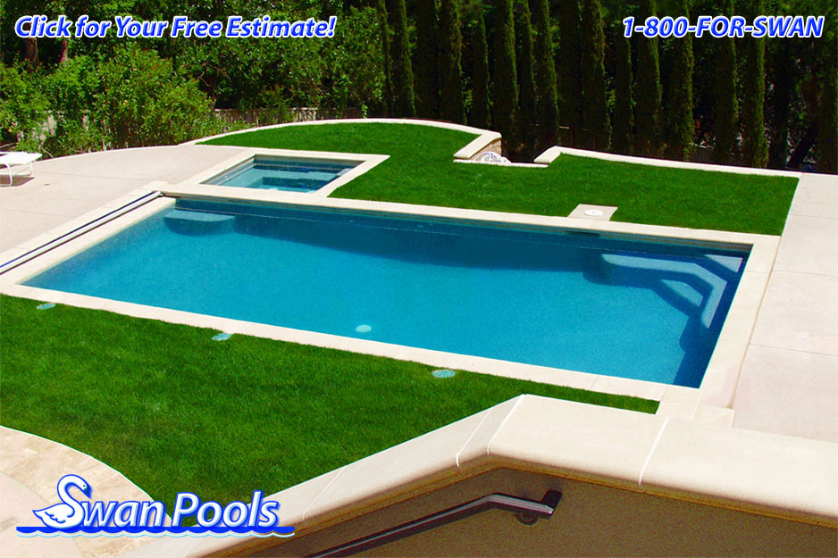 Swan pools 39 swimming pool gallery architectural elegance for Pool design estimator