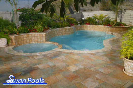 Swan Pools Swimming Pool Gallery Soft Colors Subtle
