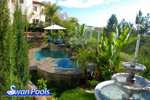 Swan Pools Swimming Pool Gallery An Intimate Garden
