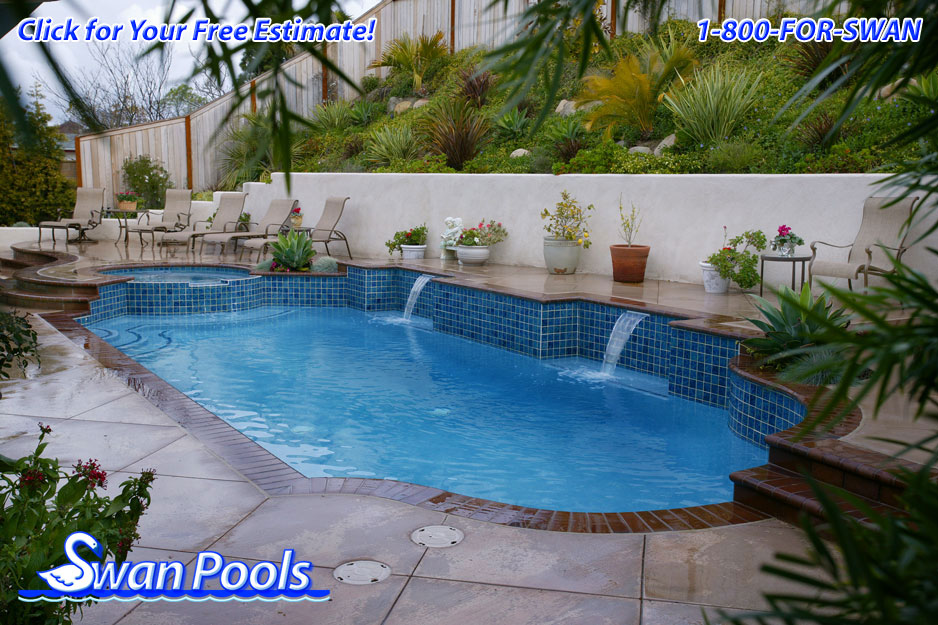 Swan pools 39 swimming pool gallery secretly yours for Pool design estimator