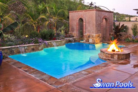 Swan Pools Custom Designs Swimming Pool Design Gallery