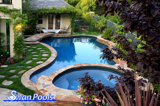 Swan Pools Custom Designs Swimming Pool Design Gallery