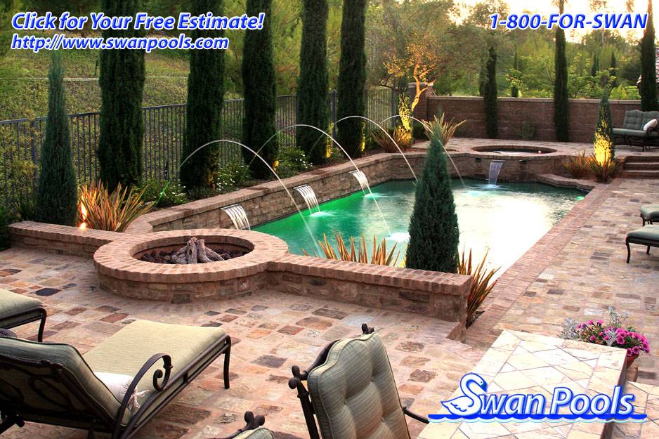 Infinity edge swimming pool installation swimming pool for Pool design company