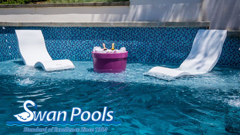 Custom swimming pool contractor with over 60 years of design and building experience.  Create your staycation by Swan Pools today.