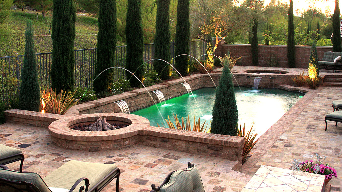 Custom Swimming Pools in California - Pool Company, Designs, Building, Construction, and Landscaping